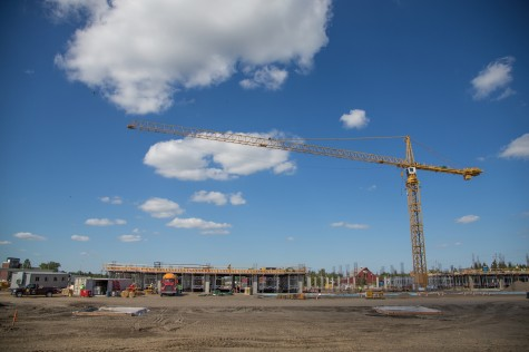 Construction continues across campus