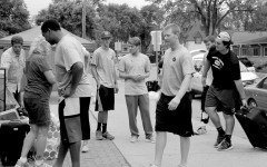 Student athletes offer help during move-in