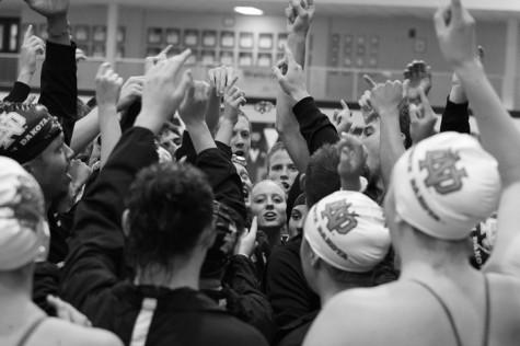 Swimming strong toward victory
