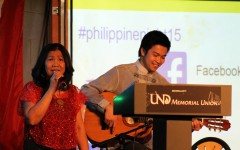 Philippines Night held in the Loading Dock