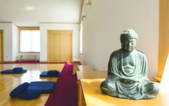 Meditation center provides relaxation