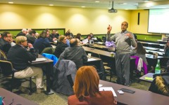 Budget, logo and  president discussed at University Senate