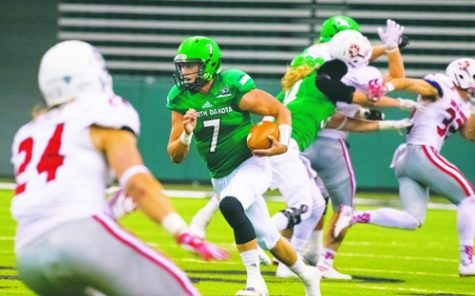 Third time's the charm for Fighting Hawks football