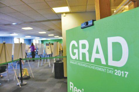 Graduates showcase research posters