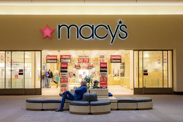 Following corporate restructuring, the Macy's department store in the Columbia Mall is slated to close. Other stores have recently left the mall, including Bully Brew coffe house and Zales jewelry store. Kyle Zimmerman/ Dakota Student