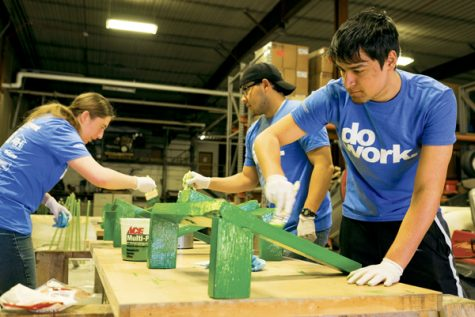 "Students come together to ""do work"" for BIG Event this spring"