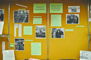 Exhibit marks 50 years since JFK visit