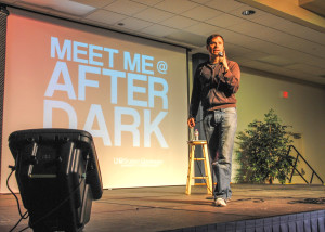 Black a hit at Comedy Night