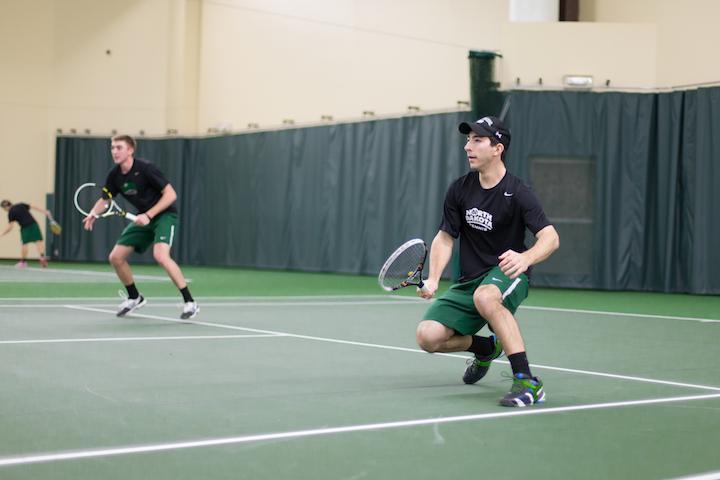 UND tennis team takes the stage