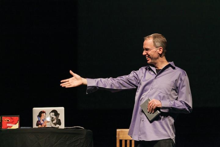 PostSecret founder speaks on campus
