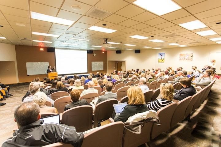 Forum held for Budget Model Redesign
