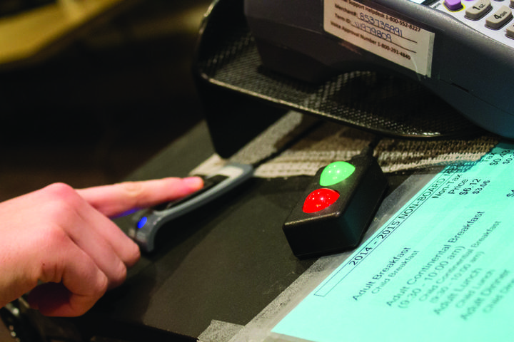Scanners speed up dining