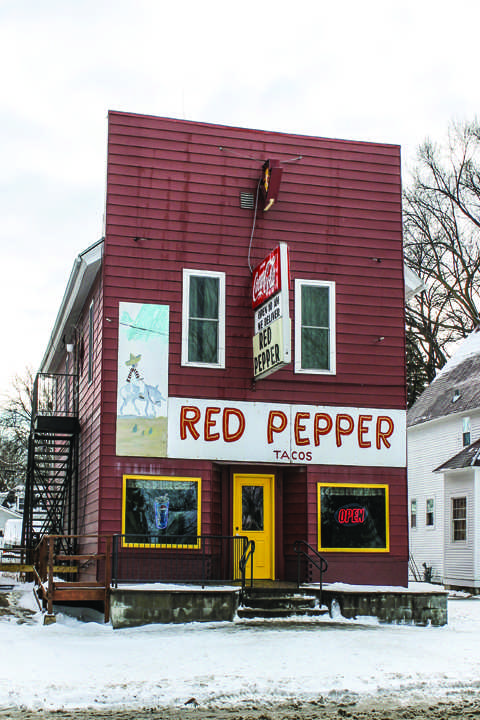 Red Pepper enjoyed by the sober