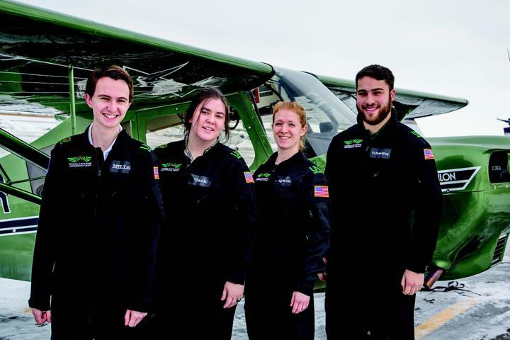 Aerobatic team soars above others