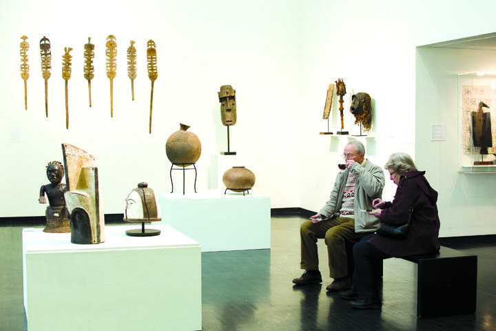 Art+Museum+opens+African+exhibit