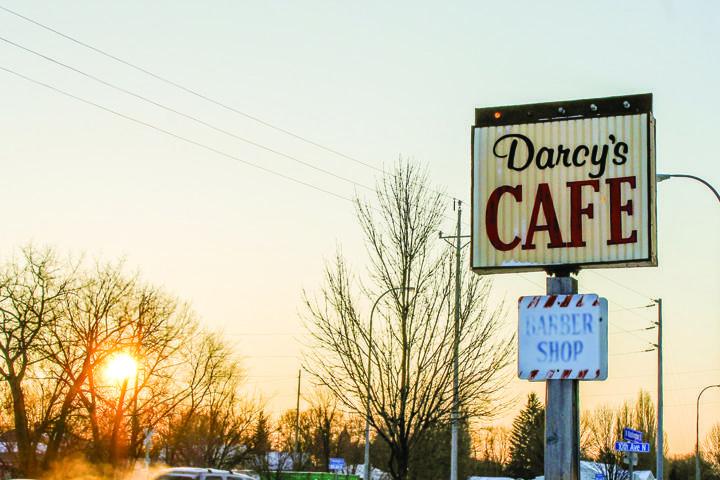 Darcy's Cafe: The farmer's Perkins