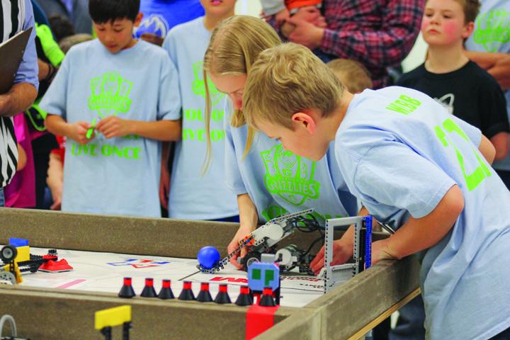 LEGO League teams compete at UND