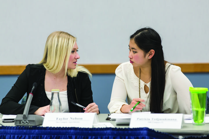 Student Senate holds budget meeting
