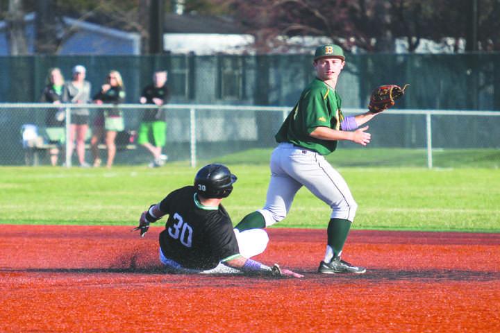 Baseball team slides into next series