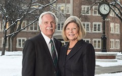 Schafer starts interim presidency
