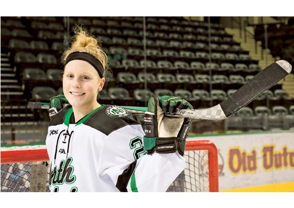 Menke and UND look for revenge against the Gophers