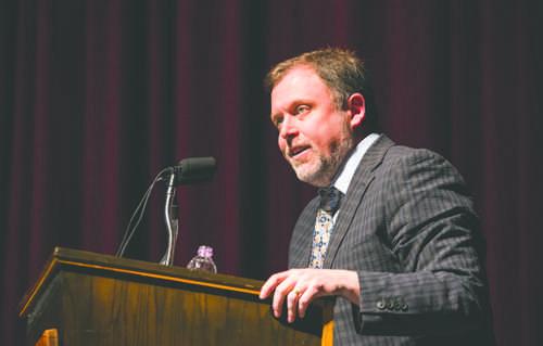 Wise talks anti-racism at UND