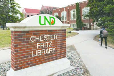 Library renovation underway