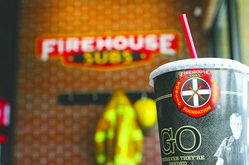 Firehouse Subs recently opened its doors to the Grand Forks community in September 2016. Photo by Alley Stroh/ The Dakota Student