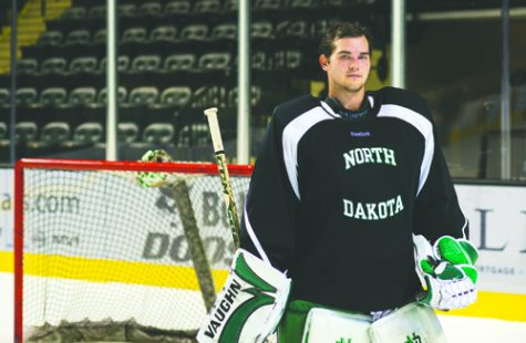 Cam Johnson returns to the Ralph Engelstad Arena to raise a ninth