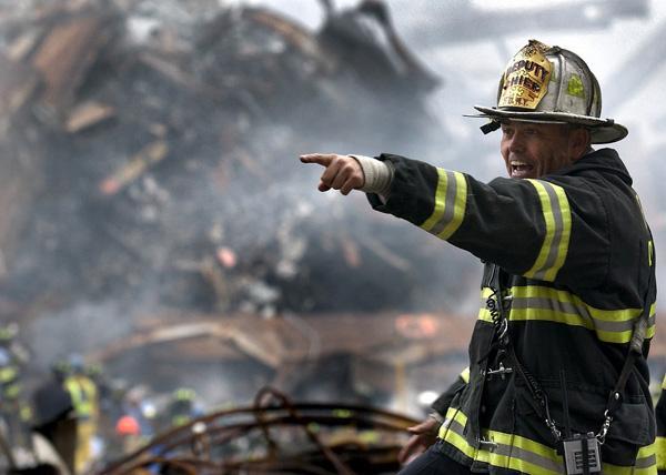FDNY Firefighter at ground zero. Photo courtesy of pixabay.com