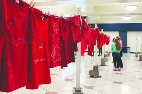 North Dakota Clothesline Project at UND