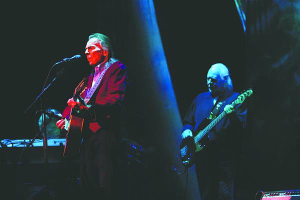 Musician Gordon Lightfoot performs Monday evening at the Chester Fritz Auditorium.