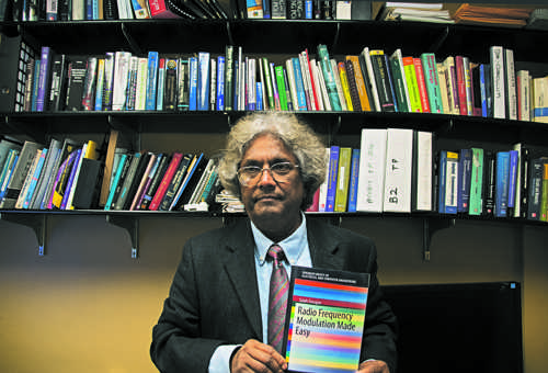 """Dr. Saleh Faruque, associate professor of electrical engineering, has published his fourth """"Made Easy"""" electrical engineering concepts book."""