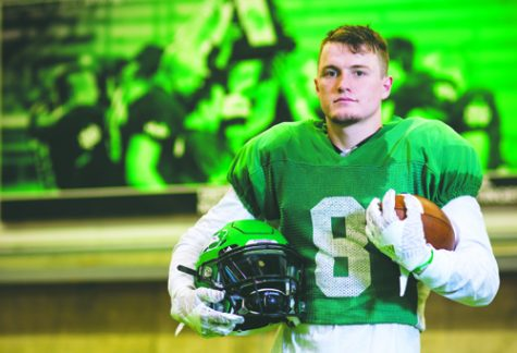 Cole Reyes is a junior defensive back on the UND football team.