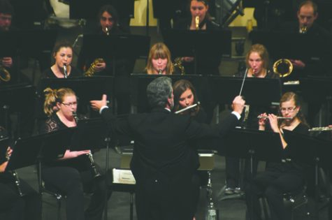 Wind ensemble delivers first performance