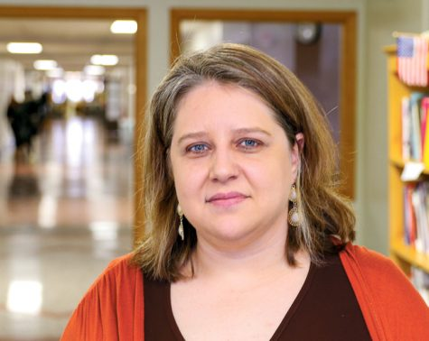 Sarah Cavanah is an assistant professor in the Communication department at UND with particular focus in community journalism and community information access.