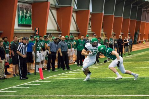 Spring Ball kicks off at UND