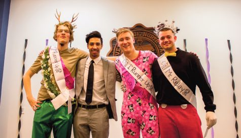 Mr. Relay, an all-male pageant held to fight cancer