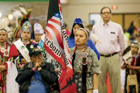 Time Out Week ended with the Wacipi, which ran Friday, Saturday and Sunday at the Hyslop Sports Center.