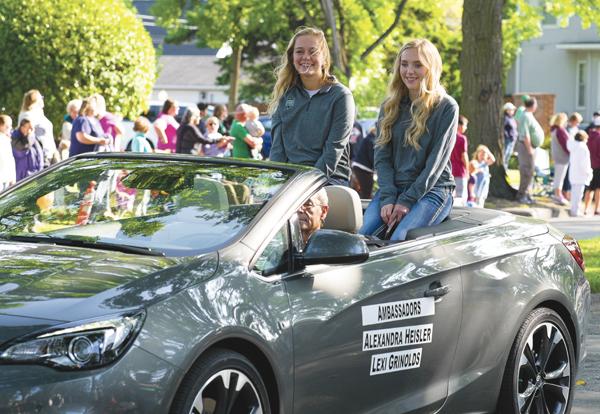 Alexandra Heisler and Lexi Grinolds are the ambassadors for the 2017 Potato Bowl.