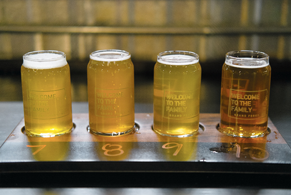 Half Brothers Brewing Company offers a number of unique beers, including gose beers which have strong salt notes and bright flavors.