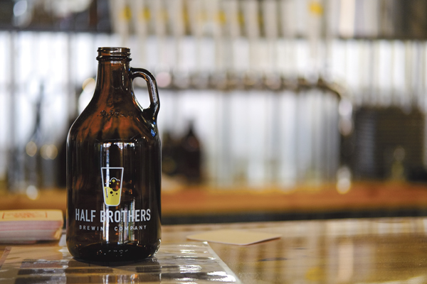 Half Brothers Brewing Company will offer 11 beers at their grand opening on Friday, October 6, 2017 in downtown Grand Forks.