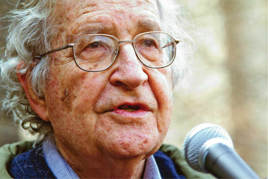 Noam+Chomsky+has+railed+against+political+corruption%2C+including+gerrymandering+and+oppression+of+everyday+citizens+by+elite+members+of+society.+%0A%0A%0A