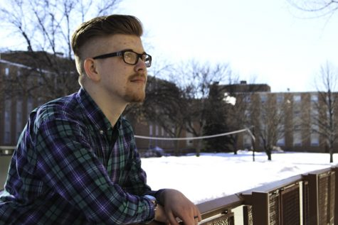 Ryan Majerus, a communications student at UND, was diagnosed with Autism on the lower end of the disorder spectrum in addition to ADHD and Asperger syndrome. Missy Iio / Dakota Student