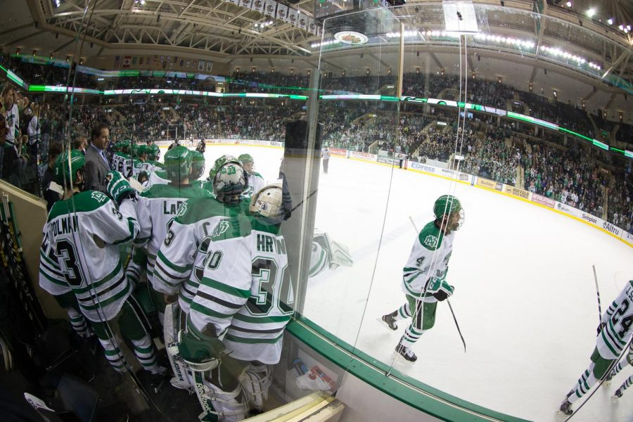 Candidates for UND hockey captain show promise