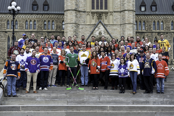Staff who support Conservative Caucus in Ottawa stand in solidarity with the broncos community today by wearing #JerseysForHumboldt. The thoughts of our whole team are with the loved ones of those touched by the tragedy.