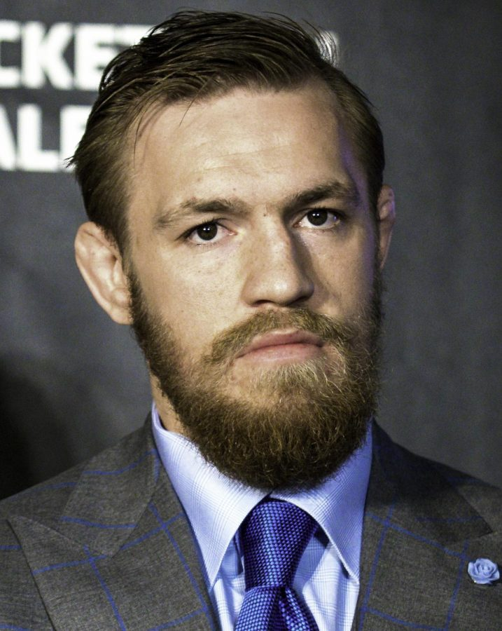 UFC+fighter+Conor+McGregor+was+charged+with+three+counts+of+assault+after+he+attacked+a+bus+containing+fellow+fighters+at+a+Brooklyn+press+event+on+Thursday%2C+April+5%2C+2018.+
