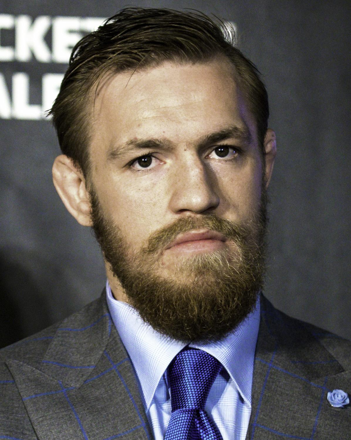 UFC fighter Conor McGregor was charged with three counts of assault after he attacked a bus containing fellow fighters at a Brooklyn press event on Thursday, April 5, 2018.