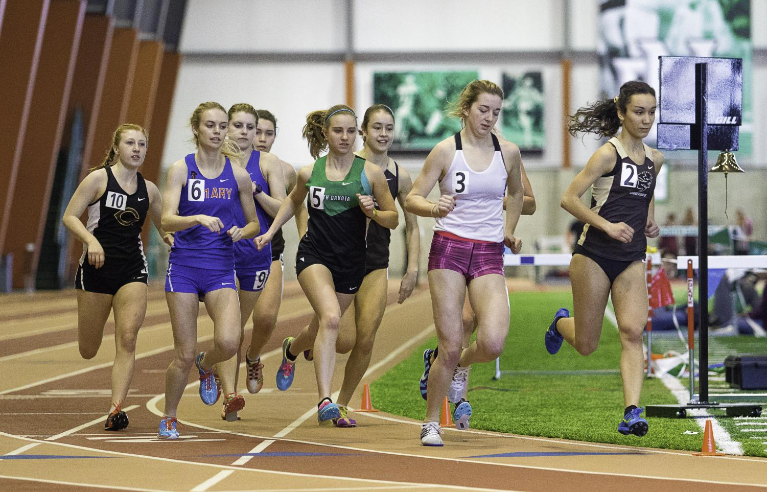 A long winter and cold, snowy spring have hampered the UND track and field teams' practice and competitive efforts.