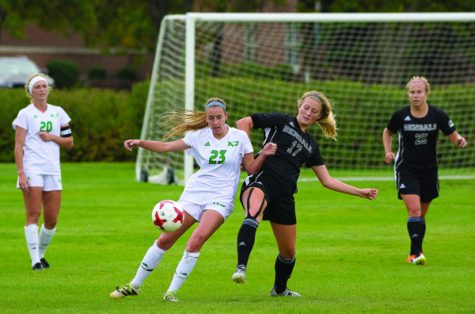 UND Soccer Falls to Bison in First Rivalry Game of the Season